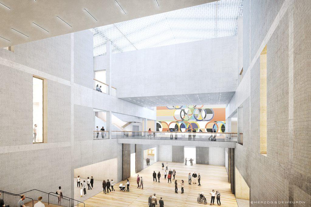 Innenraum Museum des 20. Jahrhundert Berlin