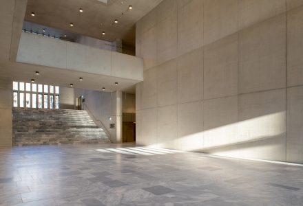 Foyer der Erweiterung Kunsthaus Zürich